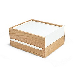 Umbra - Natural 'Stowit' jewellery box