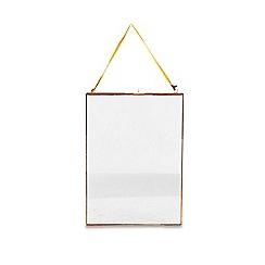 Nkuku - 'Kiko' glass copper frame