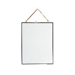 Nkuku - 'Kiko' glass zinc frame