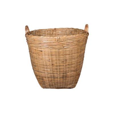 Broste Woven bamboo basket - . -