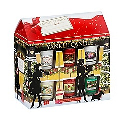 Yankee Candle - 12 votive house Christmas gift set