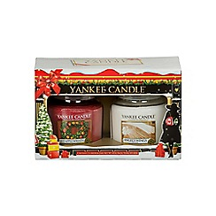 Yankee Candle - 2 medium jars Christmas gift set