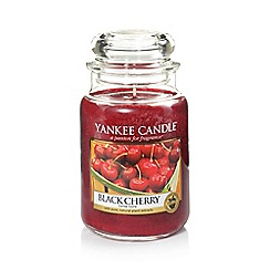 Yankee Candle - Classic 'Black Cherry' large jar candle