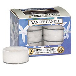 Yankee Candle - Pack of 12 'Midnight Jasmine' scented tea light candles