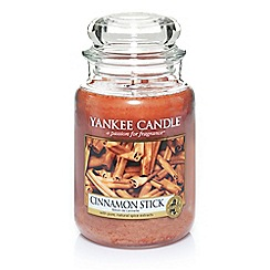 Yankee Candle - Classic 'Cinnamon Stick' large jar candle