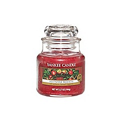 Yankee Candle - Classic 'Red Apple Wreath' small jar candle