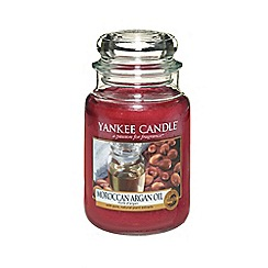 Yankee Candle - Classic 'Moroccan Argan' large jar candle