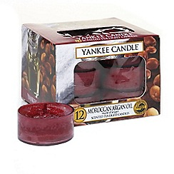 Yankee Candle - Classic 'Moroccan Argan' tea lights