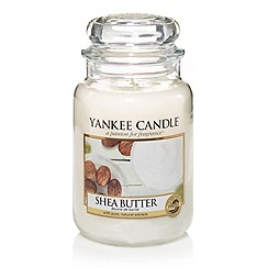 Yankee Candle - Classic 'Shea Butter' large jar candle