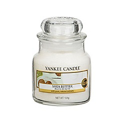 Yankee Candle - Classic 'Shea Butter' small jar candle