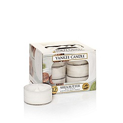 Yankee Candle - Classic 'Shea Butter' tea lights