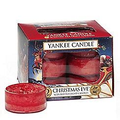 Yankee Candle - Classic 'Christmas Eve' tea lights