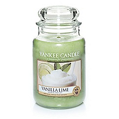 Yankee Candle - Classic 'Vanilla Lime' large jar candle