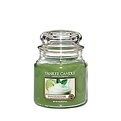 Yankee Candle - Classic 'Vanilla Lime' medium jar candle