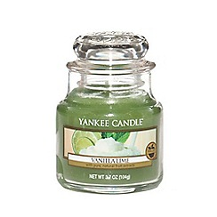 Yankee Candle - Classic 'Vanilla Lime' small jar candle
