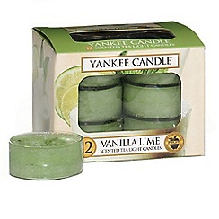 Yankee Candle - Classic 'Vanilla Lime' tea lights