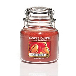 Yankee Candle - Classic 'Spiced Orange' medium jar candle