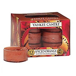Yankee Candle - Classic tea lights spiced orange