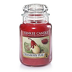 Yankee Candle - Classic 'Cranberry Pear' large jar candle