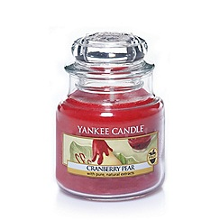Yankee Candle - Classic 'Cranberry Pear' small jar candle