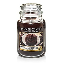 Yankee Candle - Classic 'Cappuccino Truffle' large jar candle