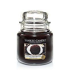 Yankee Candle - Classic 'Cappuccino Truffle' medium jar candle