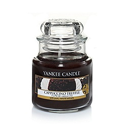 Yankee Candle - Classic 'Cappuccino Truffle' small jar candle