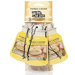 Yankee Candle - Vanilla cupcake 3-pack car freshener jar