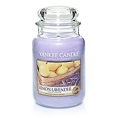 Yankee Candle - Classic 'Lemon Lavendar' large jar candle
