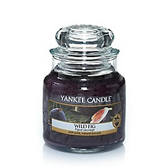 Yankee Candle - Classic 'Wild Fig' small jar candle