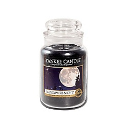 Yankee Candle - Classic 'Midsummers Night' large jar candle
