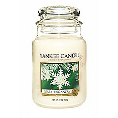 Yankee Candle - Classic 'Sparkling Snow' large jar candle