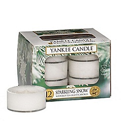 Yankee Candle - Classic tea lights sparkling snow