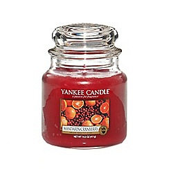 Yankee Candle - Classic 'Mandarin Cranberry' medium jar candle
