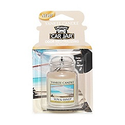 Yankee Candle - Car Jar 'Sun & Sand' car air freshener