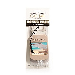 Yankee Candle - Pack of 3 'Sun & Sand' car fresheners