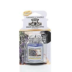Yankee Candle - Lavender vanilla car freshener jar