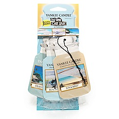 Yankee Candle - Beach vacation 3-pack car freshener jar