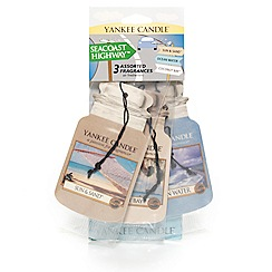 Yankee Candle - Seacoast highway 3-pack car freshener jar