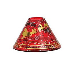 Yankee Candle - Santa sleigh large shade and tray pack