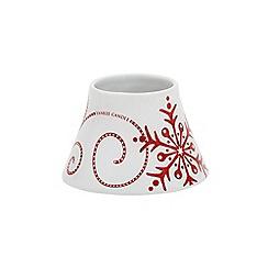 Yankee Candle - Santa sleigh small shade and tray pack
