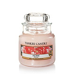 Yankee Candle - Classic 'Peony' small jar candle