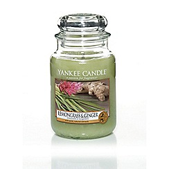 Yankee Candle - Classic 'Lemongrass and Ginger' large jar candle