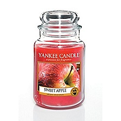 Yankee Candle - Classic 'Sweet Apple' large jar candle