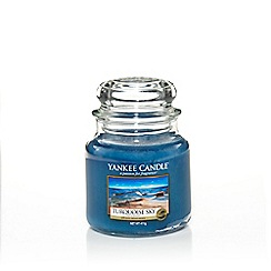 Yankee Candle - Classic 'Turquoise Sky' medium jar candle