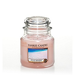 Yankee Candle - Classic 'Pink Sands' medium jar candle