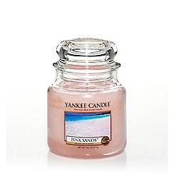 Yankee Candle - Classic 'Pink Sands' medium jar candle