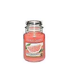 Yankee Candle - Classic 'Pink Grapefruit' large jar candle