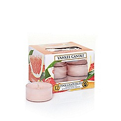 Yankee Candle - Classic 'Pink Grapefruit' tea lights