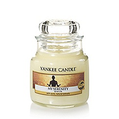 Yankee Candle - Small 'My Serenity' pear and orange scented jar candle